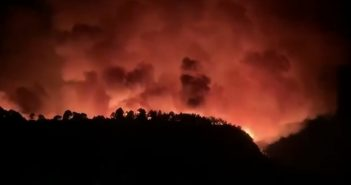 Waldbrände La Palma Kanaren 08-2020