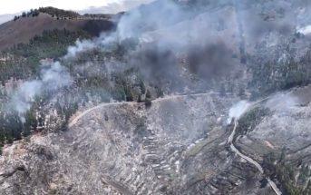 Waldbrand Gran Canaria Luft 08-2019