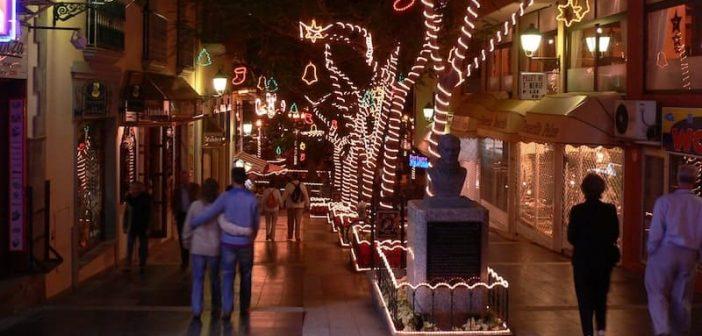 Weihnachtsschmuck Teneriffa 2005