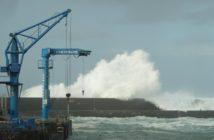 Wellen Sturm Teneriffa Puerto Hafen