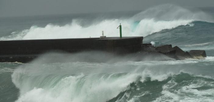 Wellenwarnung Wetterwarnung Kanaren Teneriffa Puerto de la Cruz