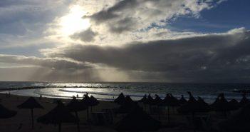 Regen und Sturm über Teneriffa und den Kanaren