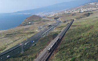 Teneriffa Nord Süd Zug